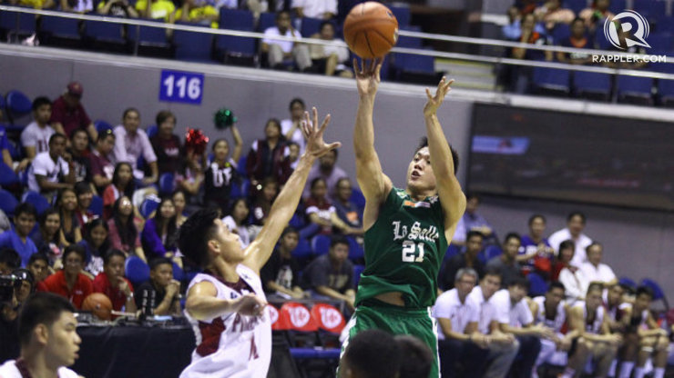 Jeron Teng of La Salle didn't need to play the fourth quarter to reach totals of 25 points and 11 rebounds against UP. Photo by Josh Albelda/Rappler
