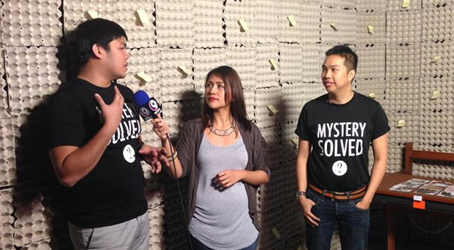 MORE THAN A TREND. The trend of escape-the-room games originated in Japan, and it quickly spread to other countries, says co-founder Chuck Chang (left). He and the Mystery Manila team with Errol Magdato (right) are inspired to bring the concept to the Philippines so they could localize it. Photo from Mystery Manila