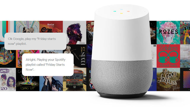 GOOGLE HOME. Screen shot from YouTube.
