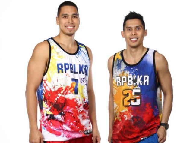 Nice jerseys from Sonny Thoss and Dondon Hontiveros. Photo from FIBA.com