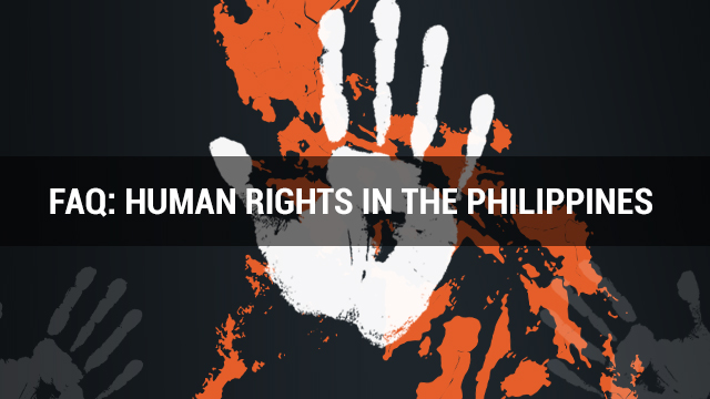 HUMAN RIGHTS. How do the human rights work in the Philippines? Graphic by Nico Villarete
