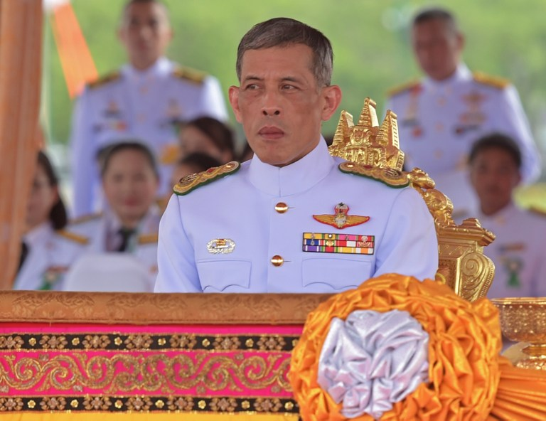 MARCH 24 ELECTIONS. This file photo taken on May 13, 2015 shows Thailand's Maha Vajiralongkorn. File photo by Pornchai Kittiwongsakul/ AFP