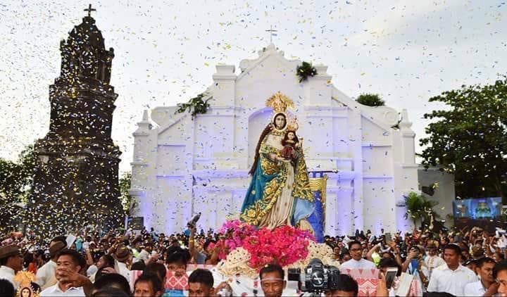 SPECIAL CHURCH. The Shrine of La Virgen Milagrosa de Badoc gets special pontifical privileges as Vatican elevates its status to minor basilica. Photo from La Virgen Milagrosa de Badoc - Coronada Facebook page