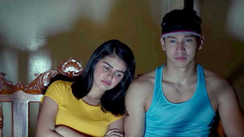 FIRST LOVE. Janine Guiterrez and Enchong Dee play Elise and Bert, two ex-childhood sweethearts. Screenshot from Regal Entertainment's Youtube page