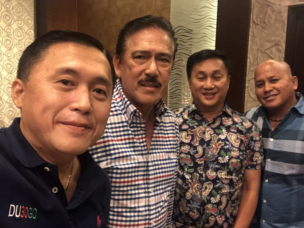 SEPARATE MEETING. Senate President Vicente Sotto III meets separately with the 3 new senators from PDP-Laban to 'clarify' some issues. Photo from Bong Go