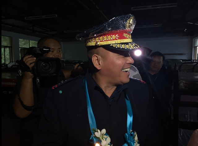 REFORMATION CENTER. PNP chief Ronald Dela Rosa graces the opening of a reformation center in Limay, Bataan, on July 8, 2016. Photo by Bea Cupin/Rappler