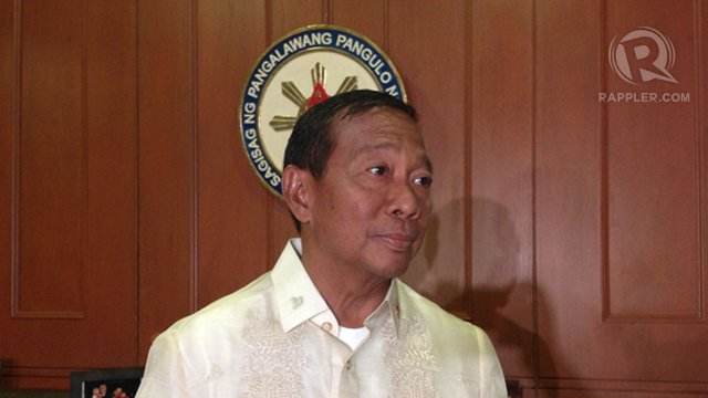 SUPPORT TEACHERS. Among the many promises of Vice President Jejomar Binay is to improve the benefits of teachers. Rappler file photo