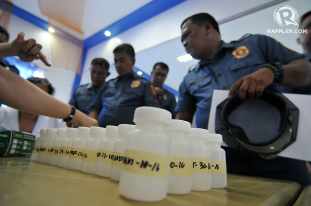 DRUG TESTING. The PDEA wants to conduct drug tests among elementary school students. File photo by Ben Nabong/Rappler