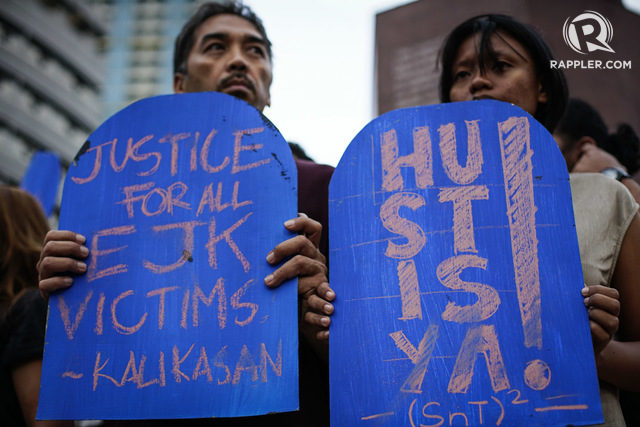 SEEKING JUSTICE. The drug war documents will be useful in investigations into the killings. File photo by Jire Carreon/Rappler