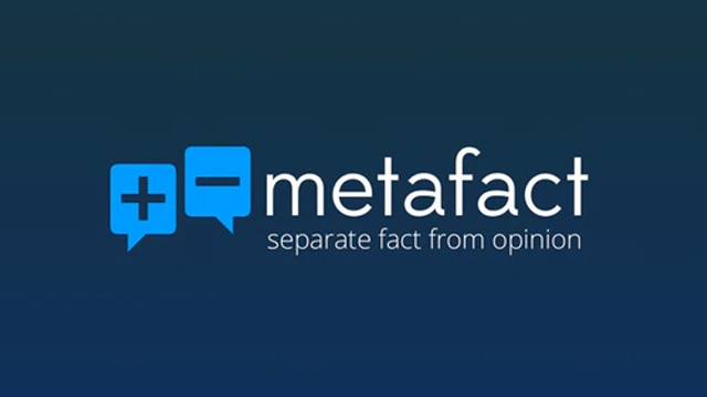 METAFACT. A new fact-checking platform connects scientists to science-related queries from users. Screenshot from Kickstarter