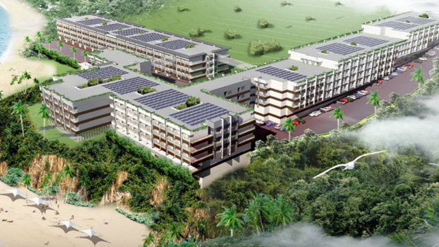 COASTAL DEVELOPMENT. An aerial perspective of the planned Hotel 101 Resort-Boracay in Boracay Island. Image from DoubleDragon