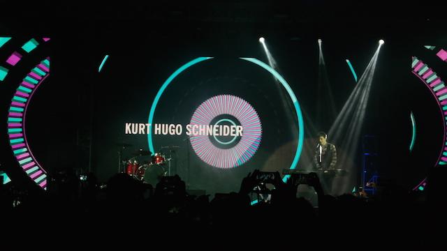 KURT HUGO. YouTubers multi talenta asal Amerika Serikat Kurt Hugo Schneider membuat penonton terpukau. Foto oleh Sakinah Ummu Haniy/Rappler