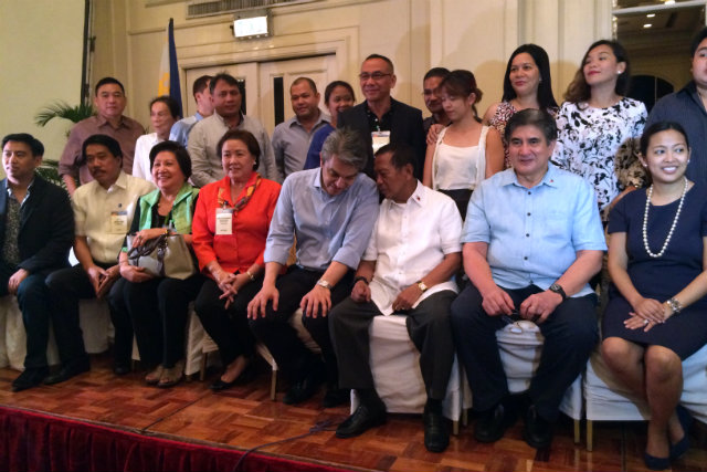 NATIONAL OFFICERS. UNA will elect permanent national officers during its party launch on July 1. File Rappler photo