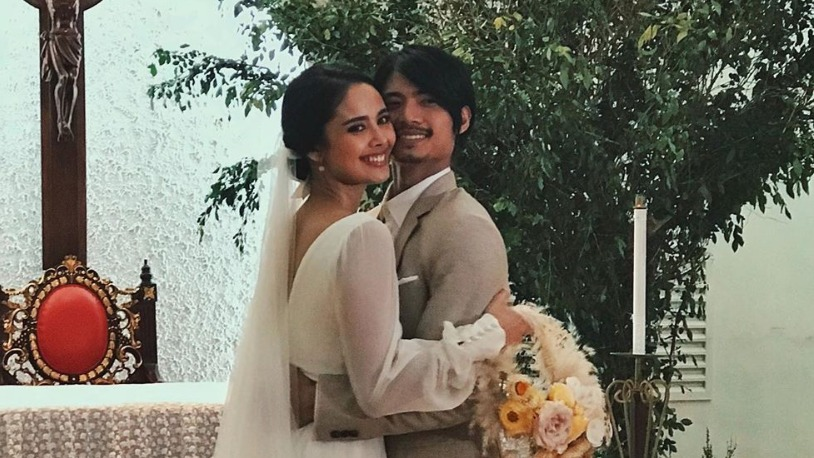 NEWLY-WEDS. Celebrity couple Megan Young and Mikael Daez tied the knot on Saturday, January 25. Photo from Lauren Young's Instagram account