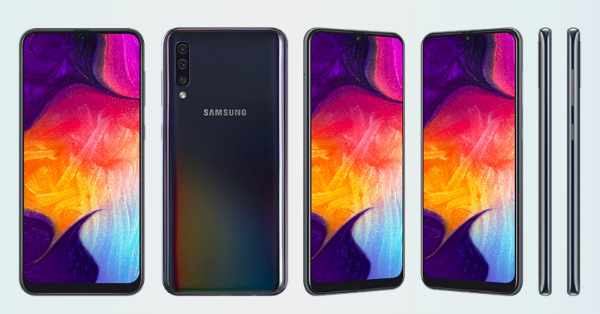 GALAXY A50. Photo from Samsung