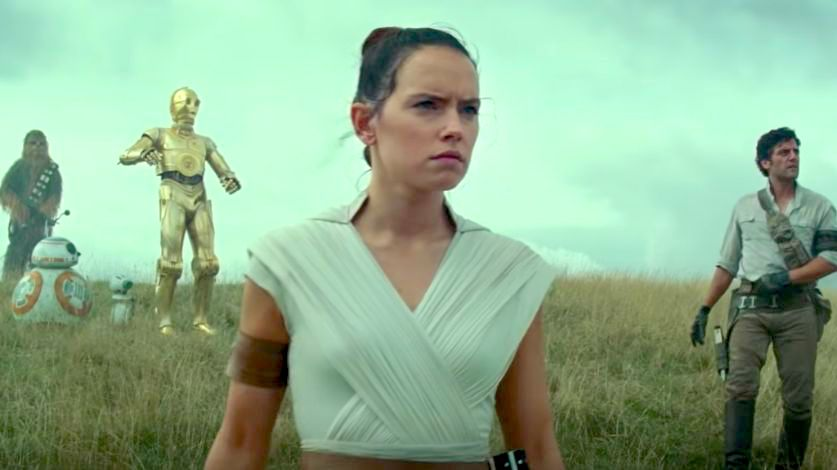 FINAL. The saga ends with its last film, 'Star Wars IX: The Rise of Skywalker.' Screenshot from Star Wars UK's Youtube page