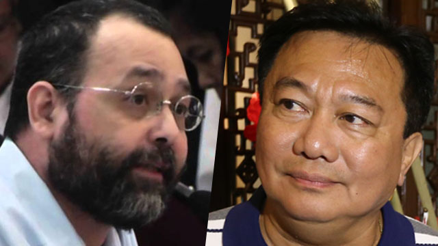 RESIGN. House Speaker Pantaleon Alvarez wants CHR Chairperson Chito Gascon to resign if it wants a bigger budget.