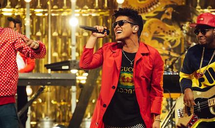 Foto dari akun Instagram Bruno Mars.