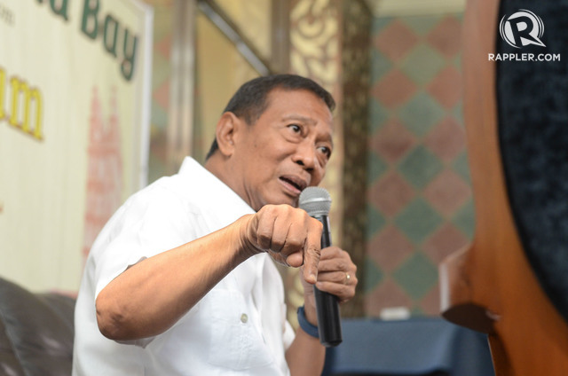 RH LAW. Vice President Jejomar Binay has been quite mum on the issue of reproductive health. Rappler file photo