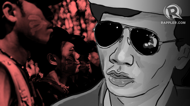 ANTI-COMMIE. Journalist Jun Pala was known for his anti-Communist stance. Graphic by Nico Villarete