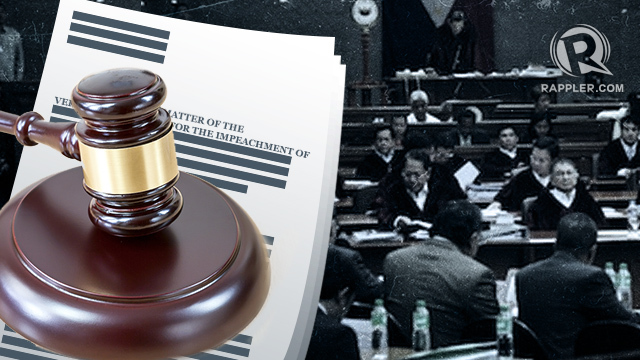 IMPEACH. Congress has the power to remove impeachable gov't officials. File photo by Rappler