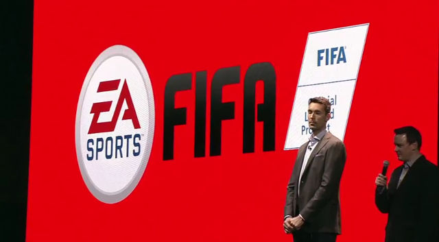 EA SPORTS FIFA. Electronic Arts throws its hat into the Switch ring. Screen shot from livestream.
