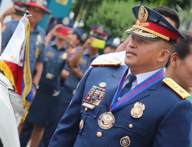 NEW PNP CHIEF. New PNP chief Ronald dela Rosa during his assumption of command ceremony at Camp Crame on July 1, 2016. Photo by Joel Liporada/Rappler