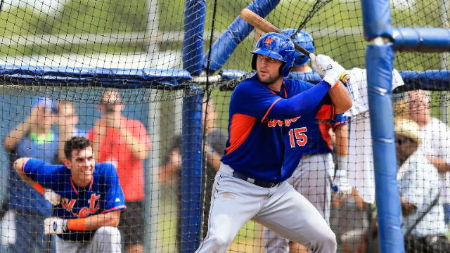 GOOD GOING, TIM. Tebow performs well during an instructional game against St Louis. Photo by Rob Foldy/Getty Images North America/AFP