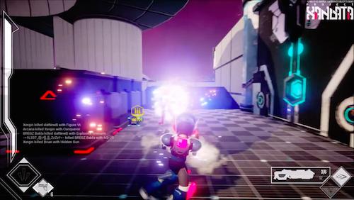 Screenshot from Xandata trailer.