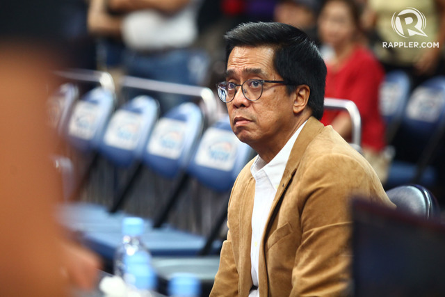 UNCEASING. Chito Narvasa says he will continue to make decisions he feels is best. File Photo by Josh Albelda/Rappler