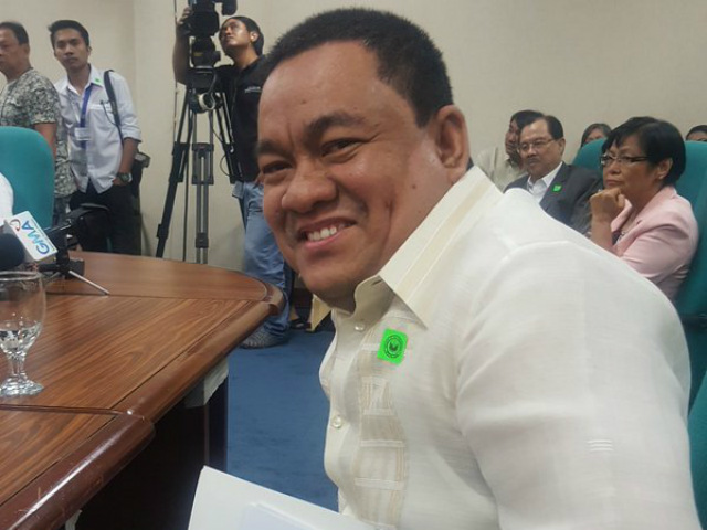 NEW COMELEC CHIEF. Comelec commissioner Sheriff Abas is now Comelec chairman. File photo from Comelec Commissioner Rowena Guanzon