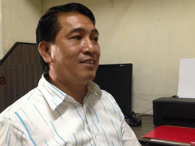 NEOPHYTE. Jimboy Jumawan says he offers an 'alternative option' for the people of Makati. Photo by Mara Cepeda/Rappler