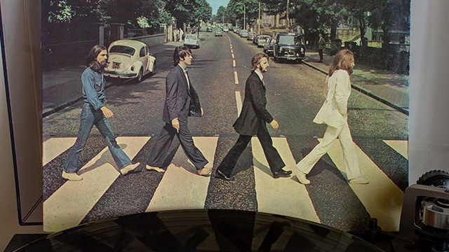BEATLES RECORD. The 1969 Beatles album rises to the top of the charts again after 49 years and 252 days. Photo from Shutterstock