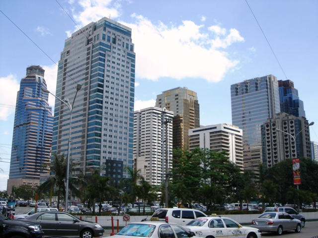 GROWTH. Ortigas Center. Photo from Wikimedia Commons