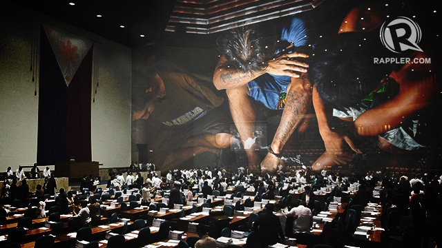 APPROVED. The death penalty bill breezes through the House of Representatives on March 7, 2017. File photos by Rappler