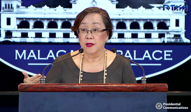 DATA PRIVACY. National Statistician Lisa Bersales says the Philippine Statistics Authority will announce when the registration will open. Screenshot from RTVM video