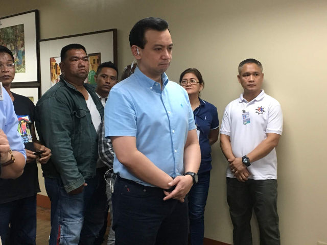 PENSIVE. Senator Antonio Trillanes looks pensive in the Senate offices on September 6, 2018. Photo by Camille Elemia/Rappler