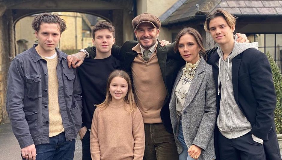 FAMILY MAN. David Beckham tries to be a hands-on father to his 4 children. Photo from Victoria Beckham's Instagram