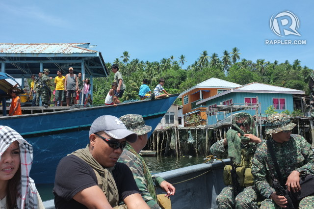 SECURITY. Locals are used to seeing the military when they bring around tourists or assist in local government programs