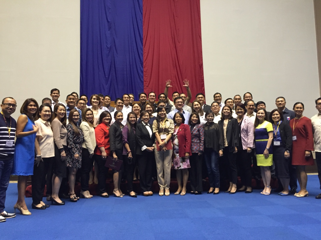 THE 'GRADS.' 53 lawmakers graduated from their executive course on legislation on July 6, 2016. Photo by Mara Cepeda/Rappler