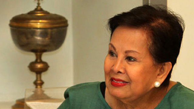 TWO IN A ROW. Former Makati mayor Elenita Binay wins 2 cases in the Sandiganbayan in November 2011. File photo by Rappler
