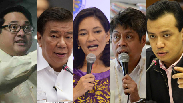 END MARTIAL LAW. Minority senators called for the lifting of Martial Law in Mindanao.