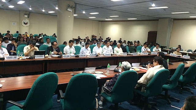 SENATE HEARING: The Philippine Senate holds its first congressional hearing on the West Philippine Sea where military officers freely discuss the security threat posed by China's reclamation activities.