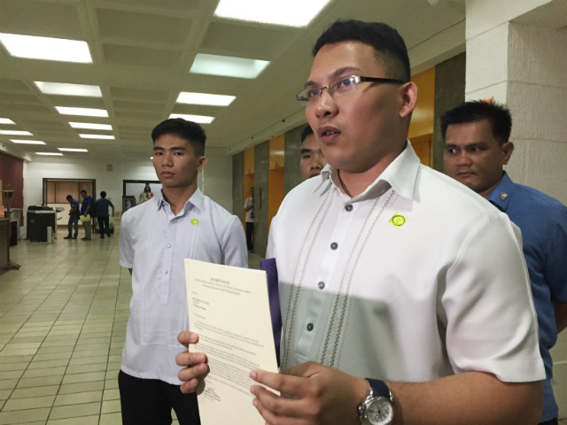 DUTERTE SUPPORTER. Ronald Cardema, chairman of a group called Duterte Youth, claims the President was cheated in the 2016 elections. Photo by Paterno Esmaquel II/Rappler