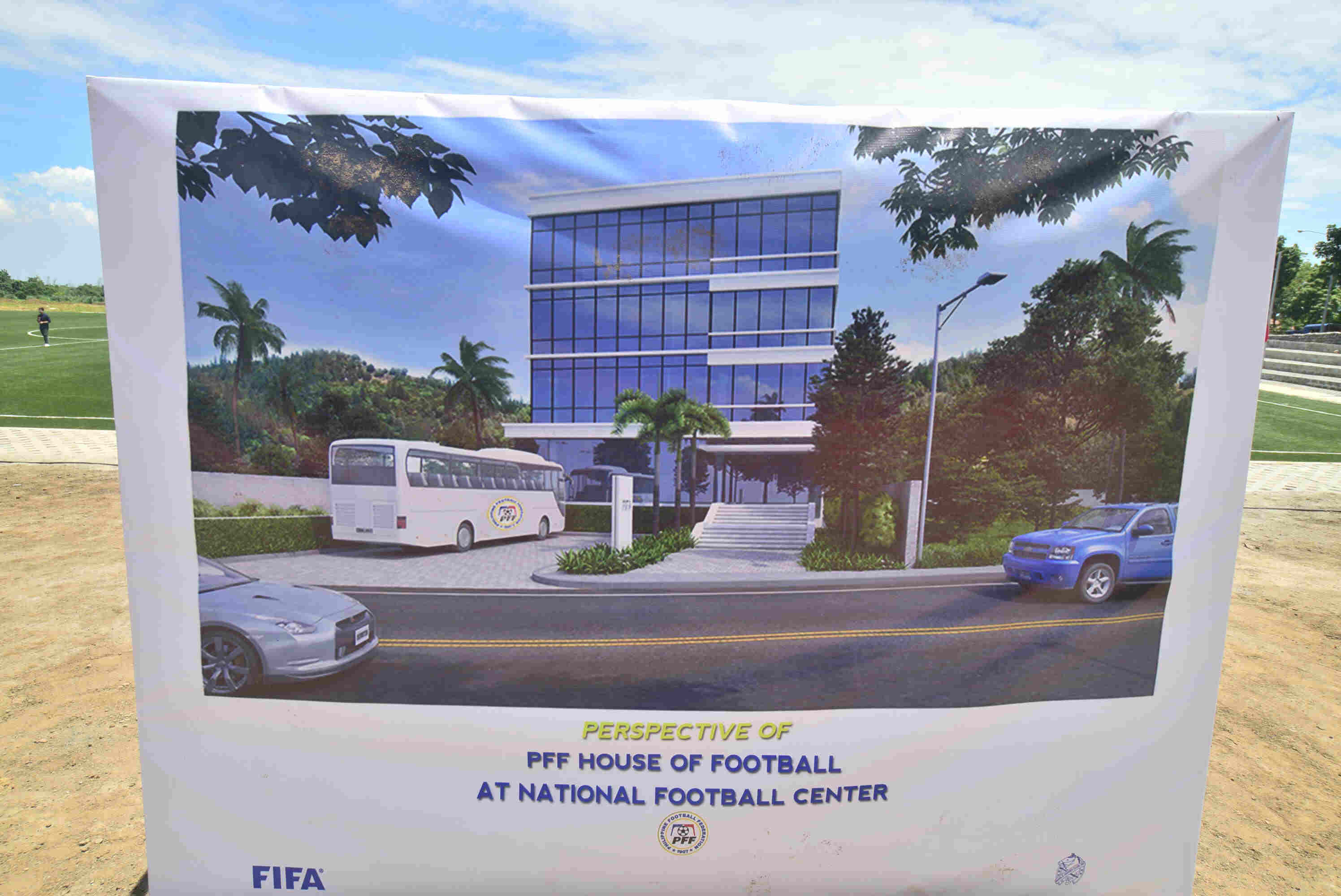 NEW HEADQUARTERS. The PFF plans to move its headquarters from Pasig to Carmona. Photo by Bob Guerrero/ Rappler