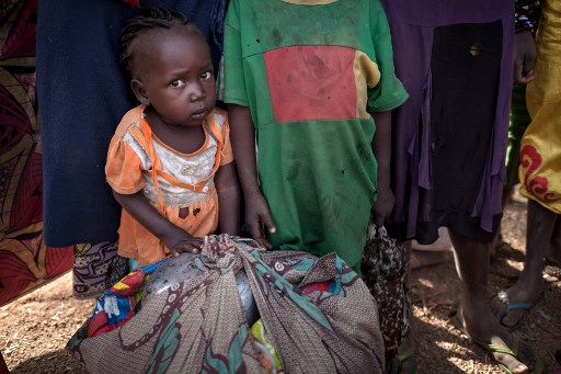 CONFLICT. Hundreds of people have fled the town of Paoua and its outskirts, since Decmeber 27, 2017 at night, due to clashes between armed groups, accoriding to Medecins Sans Frontiu00c3u00a8res (MSF) on December 31, 2017. Photo by Alexis Huguet / AFP