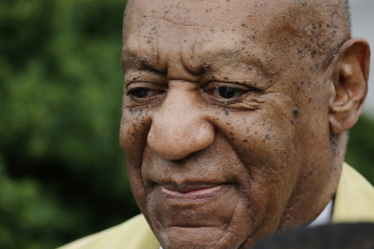 AMERICA'S DAD NO MORE. US TV icon Bill Cosby was found guilty of aggravated indecent assault on April 26. Photo from AFP