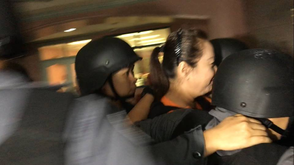 TRIAL. Janet Lim Napoles attends her court hearing on March 8, 2017 for plunder and graft charges in connection with former APEC representative Edgar Valdez's pork barrel scam case. Photo by Rappler