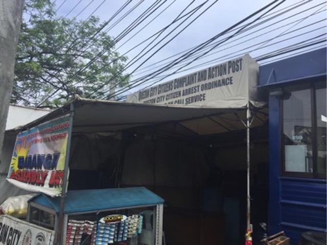 TEMPLO CENTRAL STATION. Where a Quezon City barangay official takes Rappler contributor Rambo Talabong.