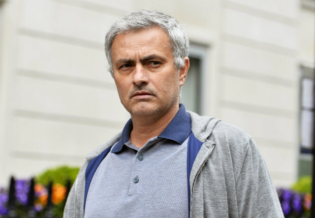 Portuguese manager Jose Mourinho leaves his house in central London, Britain, 22 May 2016. British media reports on 21 May 2016 stated that Jose Mourinho will take over from Louis Van Gaal as manager of Manchester United. It is expected that a formal announcement will be made next week. Photo by Hannah McKay/EPA